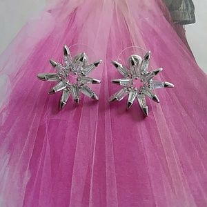 Jewelry - CZ Star Cluster Post Earring
